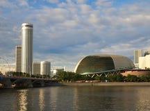 Horizon de Singapour photographie stock libre de droits