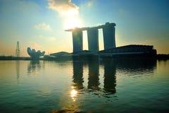 Horizon de Singapour Photo stock