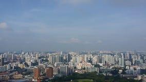 Horizon de Singapour Photos stock