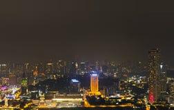 Horizon de Singapour Image libre de droits