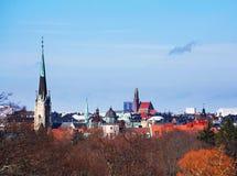 Horizon de Stockholm Photos libres de droits