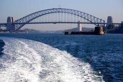 Horizon de Sydney Photographie stock libre de droits