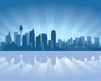 Horizon de Sydney, Australie illustration libre de droits