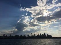Horizon de Sydney CBD Photos libres de droits