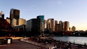 Horizon de Sydney Central Business District photo stock