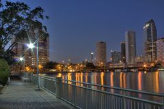 Horizon de Tampa la Floride Images stock