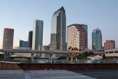 Horizon de Tampa, la Floride photographie stock libre de droits