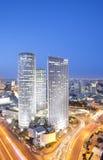 Horizon de Tel Aviv Image stock