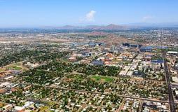 Horizon de Tempe, Arizona Photographie stock libre de droits