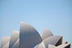 Horizon de théatre de l'$opéra de Sydney Photo libre de droits