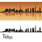 Horizon de Tokyo Photos libres de droits