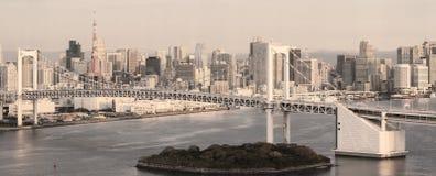 Horizon de Tokyo Images libres de droits