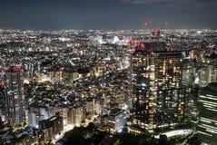 Horizon de Tokyo Photo libre de droits