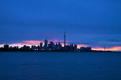Horizon de Toronto photographie stock