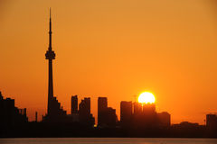 Horizon de Toronto Images stock