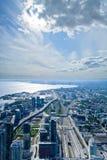 Horizon de Toronto Photographie stock libre de droits