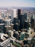 Horizon de Toronto Photographie stock