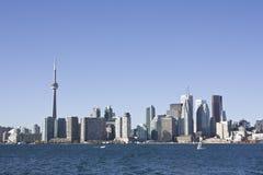 Horizon de Toronto pendant le jour Photographie stock