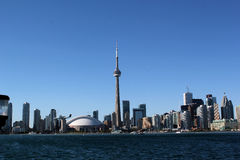Horizon de Toronto : Tour de NC Photos stock