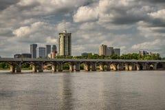 Horizon de Tulsa Image libre de droits