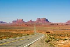 Horizon de vallée de monument photographie stock