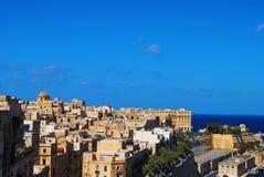 Horizon de valletta, Malte Photos stock