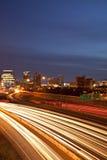 Horizon de van de binnenstad van Atlanta stock fotografie