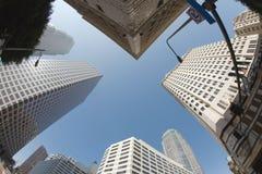 Horizon de Van de binnenstad van Los Angeles Stock Foto