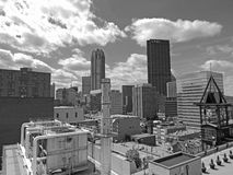Horizon de van de binnenstad van Pittsburgh Stock Fotografie
