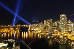 Horizon de Vancouver Photos libres de droits