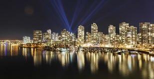 Horizon de Vancouver Photo stock