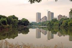 Horizon de ville Photo stock