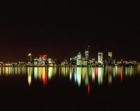 Horizon de ville Photos stock