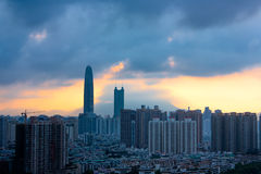 Horizon de ville Image stock