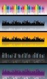 Horizon de ville illustration stock