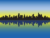 Horizon de ville Images stock