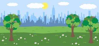 Horizon de ville illustration libre de droits