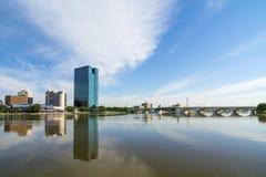 Horizon de ville image libre de droits