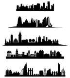 Horizon de ville illustration de vecteur