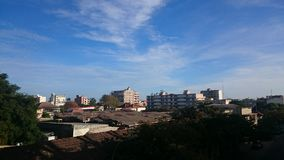 Horizon de ville Photos libres de droits