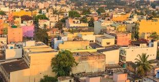 Horizon de ville de Bangalore, Inde photos stock