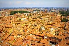 Horizon de ville de Bologna image libre de droits
