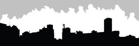 Horizon de ville de Buffalo Images stock