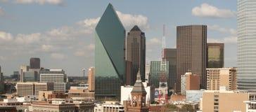 Horizon de ville de Dallas photo libre de droits