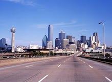 Horizon de ville de Dallas Photos stock