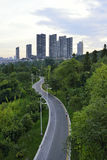 Horizon de ville de Guiyang Image libre de droits