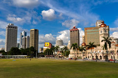 Horizon de ville de Kuala Lumpur Image stock