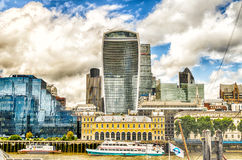 Horizon de ville de Londres Photo libre de droits