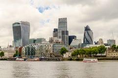 Horizon de ville de Londres Photos stock