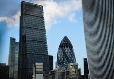 Horizon de ville de Londres Photos libres de droits